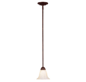 Liberty 1 Light Mini Pendant  in Walnut Patina Finish by Savoy House KP-7-5009-1-40