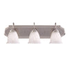 Spirit 3 Light Bathroom Vanity  in Pewter Finish by Savoy House KP-8-511-3-69