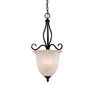 Oxford 4 Light Pendant  in English Bronze Finish by Savoy House KP-98-4-13