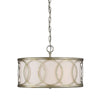 Manhattan 3 Light Argentum Pendant by Aria Home Lighting