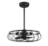 Jaxson 3 Light Oil Rubbed Bronze Outdoor Fandelier by Aria Home Lighting