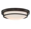 Elara 2 Light Oil Rubbed Bronze Flush Mount by Aria Home Lighting