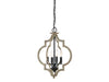 Stanton 4 Light Weathered Birch Foyer by Aria Home Lighting