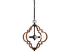 Stanton 4 Light Remington Foyer by Aria Home Lighting