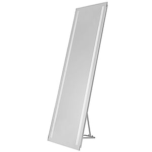 2 Light LED Vanity Mirror in Silver by Dainolite MLED-1761-WDB