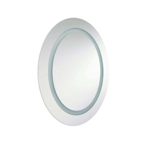 1 Light LED Vanity Mirror in Silver by Dainolite MLED-2823E-IL
