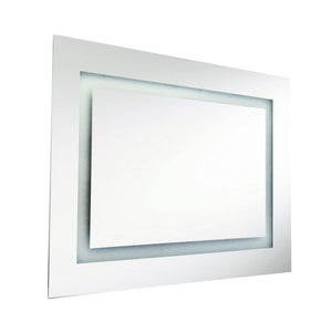 1 Light LED Vanity Mirror in Silver by Dainolite MLED-3224-IL