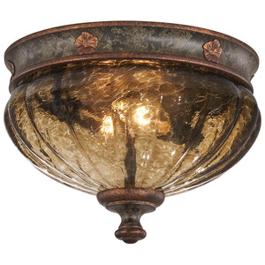 Sanguesa 2 Light Flush Mount in Sanguesa Patina By Metropolitan N6080-194