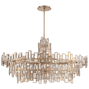 Bel Mondo 21 Light Island Lighting in Luxor Gold By Metropolitan N6679-274