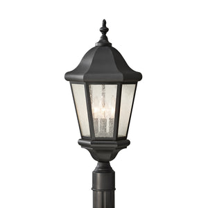 Martinsville 3 Light Outdoor Lighting in Black Finish by Sea Gull OL5907BK