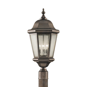Martinsville 3 Light Outdoor Lighting in Corinthian Bronze Finish by Sea Gull OL5907CB