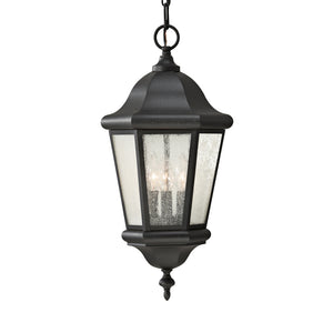 Martinsville 3 Light Outdoor Lighting in Black Finish by Sea Gull OL5911BK