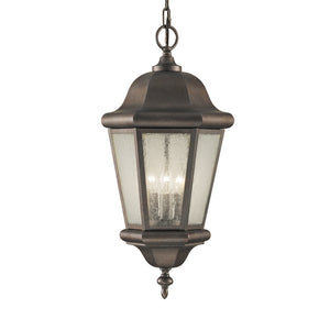 Martinsville 3 Light Outdoor Lighting in Corinthian Bronze Finish by Sea Gull OL5911CB
