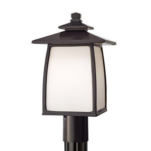 Wright House 1 Light Outdoor Lighting in Oil Rubbed Bronze Finish by Sea Gull OL8508ORB