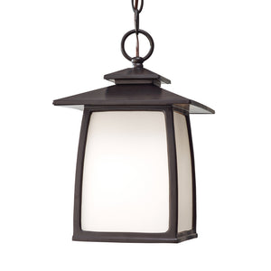 Wright House 1 Light Outdoor Lighting in Oil Rubbed Bronze Finish by Sea Gull OL8511ORB