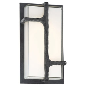 Sirato 1 Light LED Outdoor Wall Sconce in Spanish Iron Finish By George Kovacs P1144-039-L