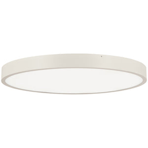 Ugo 1 Light LED Flush Mount in Sand White Finish By George Kovacs P2014-655-L