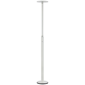 1 Light LED Floor Lamp in White Finish By George Kovacs P305-4-044-L