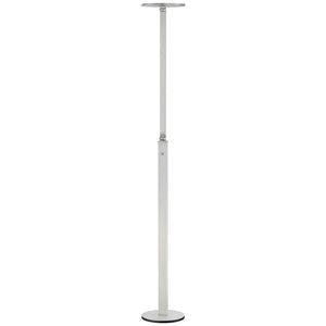 1 Light LED Floor Lamp in Chiseled Nickel Finish By George Kovacs P305-4-654-L
