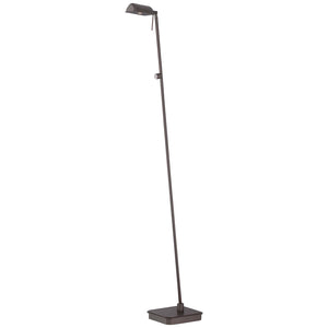 George'S Reading Room 1 Light LED Floor Lamp in Copper Bronze Patina Finish By George Kovacs P4344-647