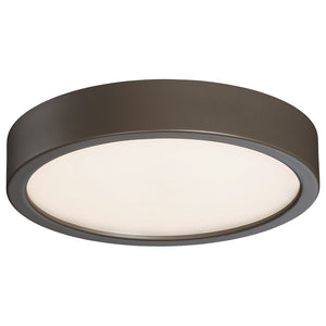 1 Light LED Flush Mount in Painted Copper Bronze Patina Finish By George Kovacs P841-647B-L