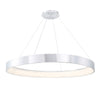 Corso 53in LED Pendant 3000K in Brushed Aluminum