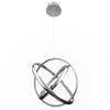 Tumbling 20in LED Pendant 3500K in Chrome