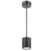 Tube Energy Star LED Pendant in Black