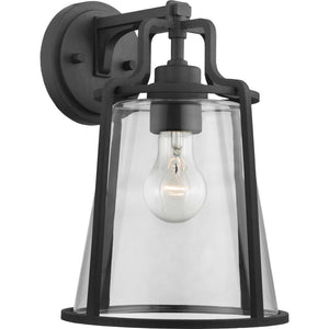 Benton Harbor One-Light Large Wall Lantern with DURASHIELD in Black Finish by Progress Lighting P560185-031
