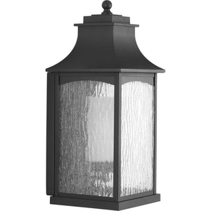 Maison Black One-Light Large Wall Lantern in Black Finish by Progress Lighting P6636-31MD