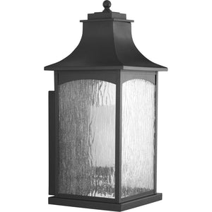 Maison Black One-Light Extra-Large Wall Lantern in Black Finish by Progress Lighting P6637-31MD