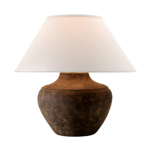 Calabria 1 Light Table Lamp By Troy PTL1010 in Sienna Finish