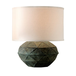 Patina 1 Light Table Lamp By Troy PTL1012 in Verde Finish
