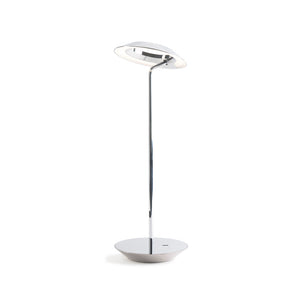 Royyo Desk Lamp, Chrome body, Chrome base plate RYO-SW-CRM-CRM-DSK