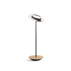 Royyo Desk Lamp, Matte Black body, White Oak base plate RYO-SW-MTB-WOK-DSK