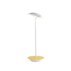 Royyo Desk Lamp, Matte White body, Honeydew Felt base plate  RYO-SW-MWT-HDF-DSK