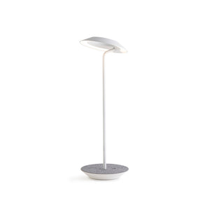 Royyo Desk Lamp, Matte White body, Oxford Felt base plate RYO-SW-MWT-OXF-DSK