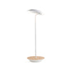 Royyo Desk Lamp, Matte White body, White Oak base plate RYO-SW-MWT-WOK-DSK