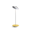 Royyo Desk Lamp, Silver body, Honeydew Felt base plate RYO-SW-SIL-HDF-DSK