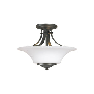 Barrington 2 Light Ceiling Light in Oil Rubbed Bronze Finish by Sea Gull SF241ORB