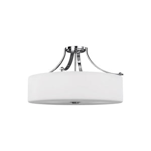 Sunset Drive 4 Light Ceiling Light in Chrome Finish by Sea Gull SF254CH