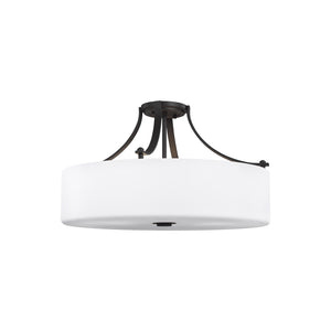 Sunset Drive 4 Light Ceiling Light in Oil Rubbed Bronze Finish by Sea Gull SF254ORB