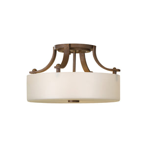 Sunset Drive 2 Light Ceiling Light in Corinthian Bronze Finish by Sea Gull SF259CB