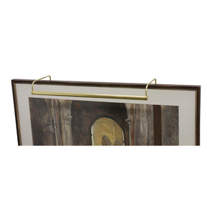 "Slim-Line 21"" Polished Brass Picture Light"