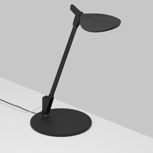 Splitty Desk Lamp in Matte Black Finish by Koncept SPY-W-MTB-USB-QCB
