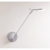 Splitty Desk Lamp with hardwire wall mount, Matte White SPY-W-MWT-USB-HWS