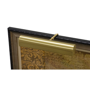 "Traditional 18"" Satin Brass Picture Light"