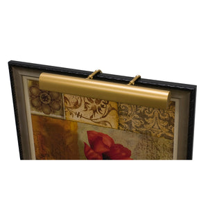 "Traditional 21"" Gold Picture Light"
