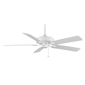 Edgewood Deluxe Wet 60 Inch Fan in White Finish by Fanimation TF971WH