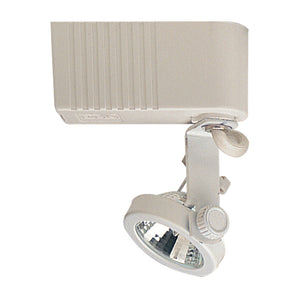 PLC Lighting TR10 WH Gimbal-12v. 1 Light Track Fixture in White Finish